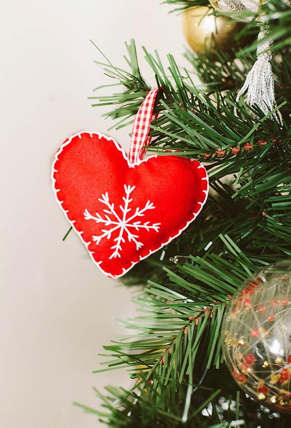 Coração Natalino