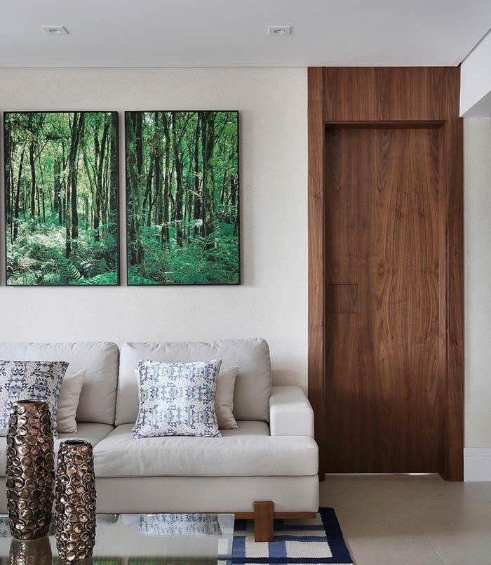 Um toque da natureza na decoração do ambiente