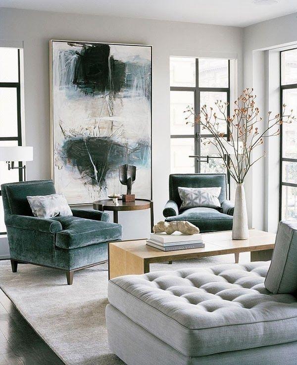 Quadro com pintura combina em salas clássicas e tradicionais.