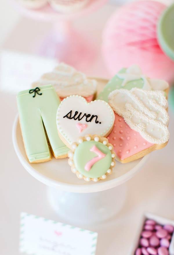 Pijamas, corações e cupcakes