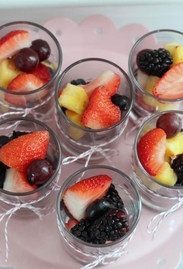 Aposte em frutas frescas no cardápio