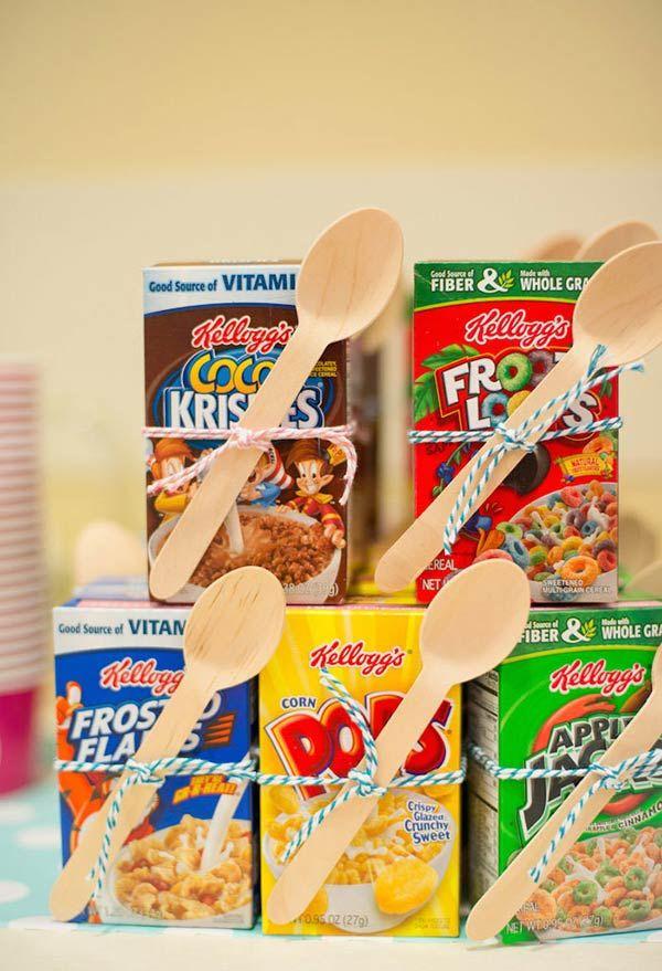 Que tal servir cereal matinal?