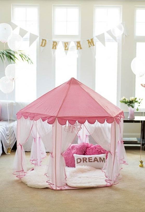 Tenda dos sonhos para festa do pijama