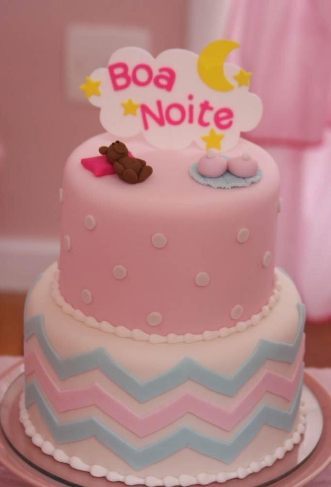 Um bolo de boa noite