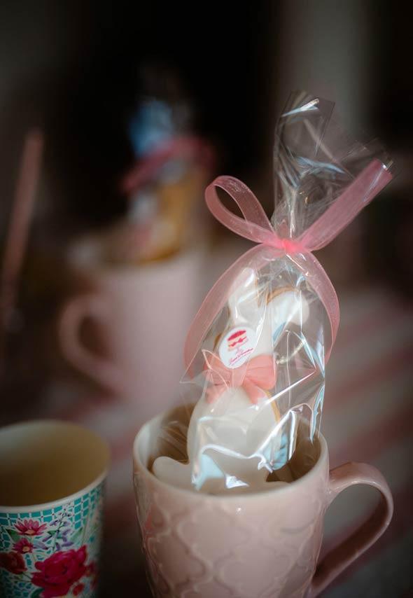 Lembrancinha de caneca para o café