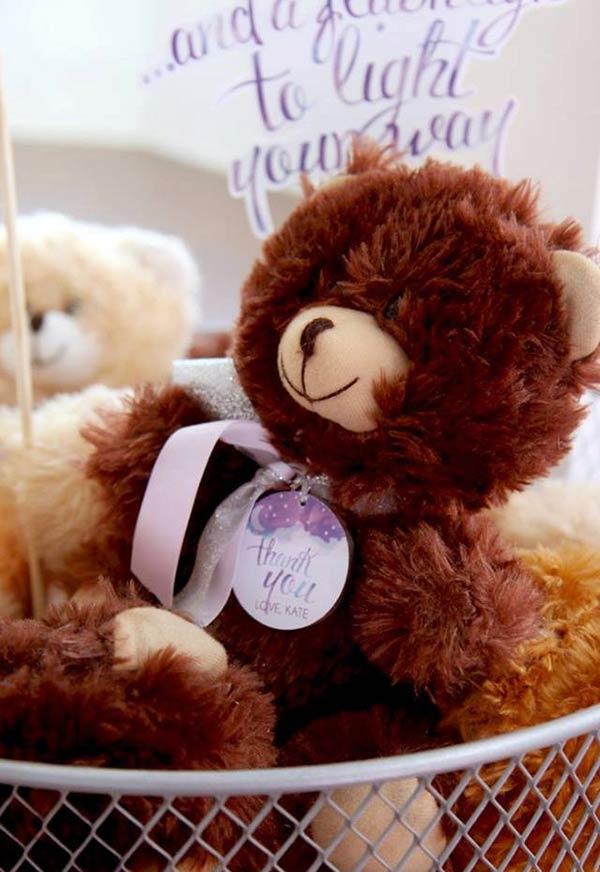 Um ursinho de pelúcia para lembrar para sempre
