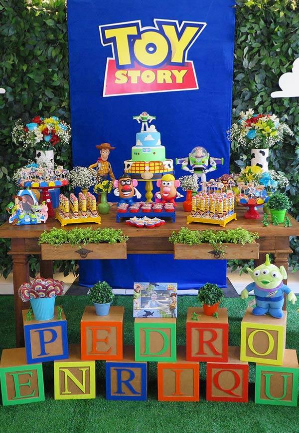 Decoração da festa Toy Story