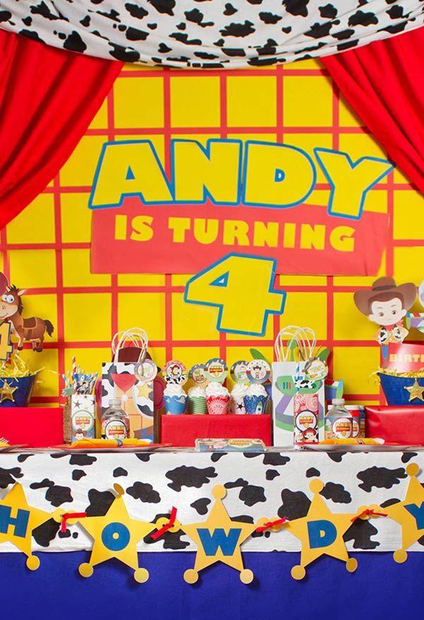 Festa baseada no personagem Andy