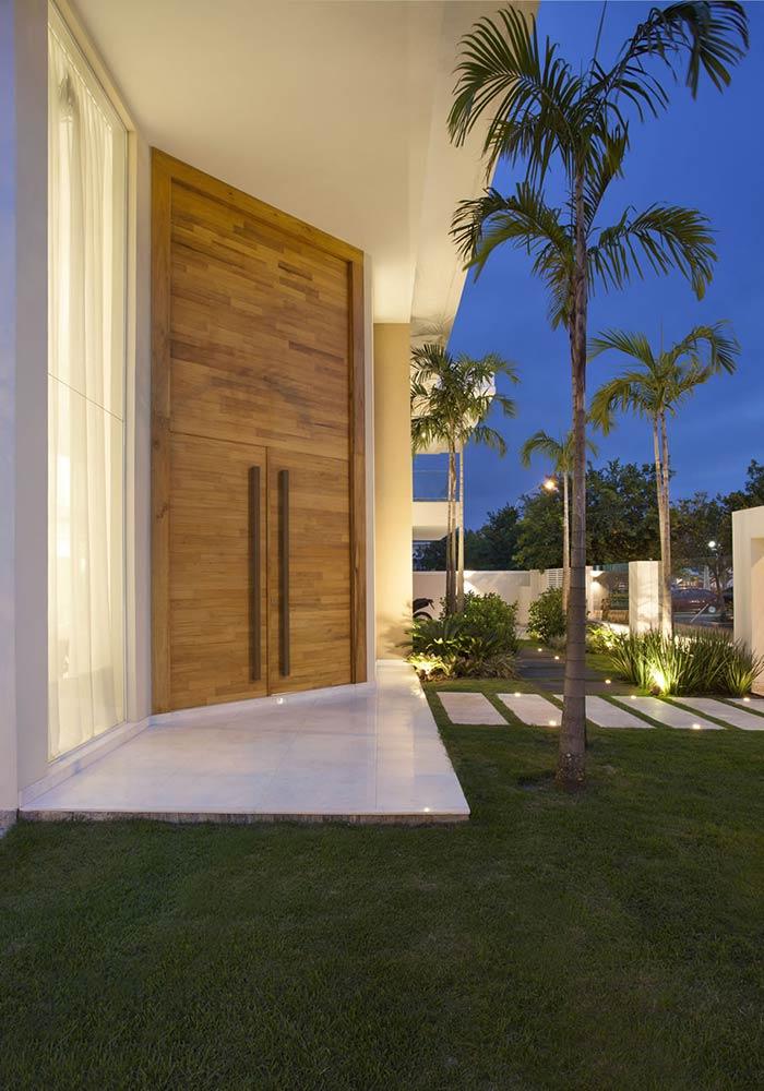 Entradas de casas 60 dicas e ideias para decorar a sua casa - Entradas casas modernas ...