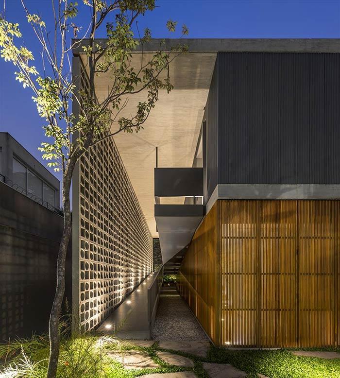 Rampas para dar leveza na arquitetura