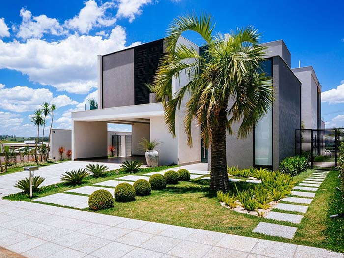Entradas de casas: 60 inspirações de decoração da casa