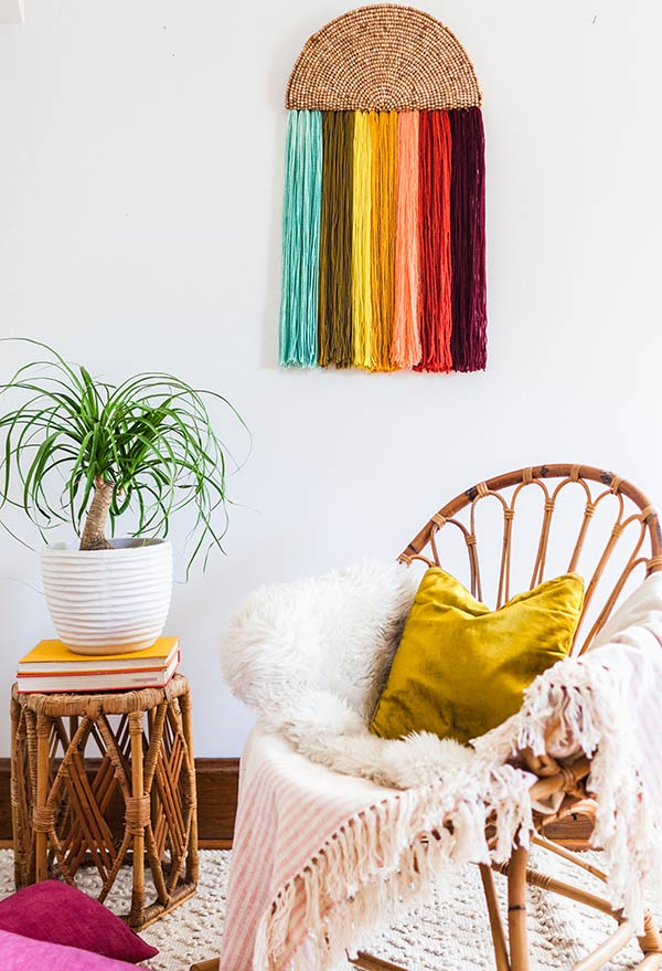 Franjas para ornamentos de parede