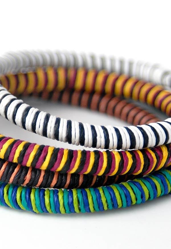 Pulseiras super coloridas