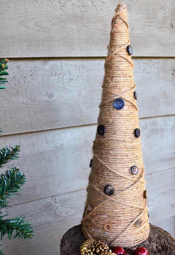 Arvore cone de Natal