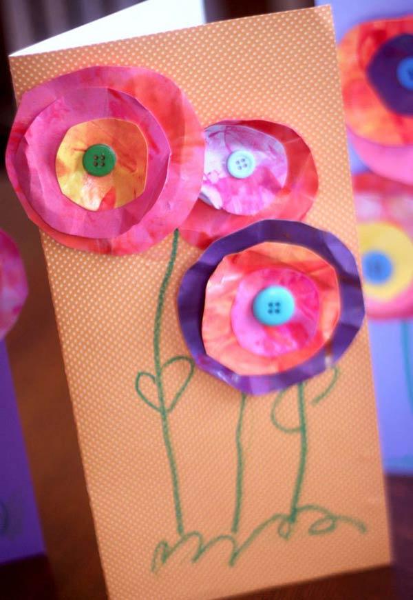 Flores para fazer com os pequenos