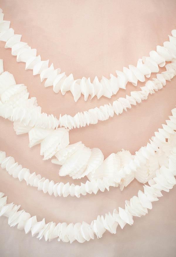 Garlands com texturas