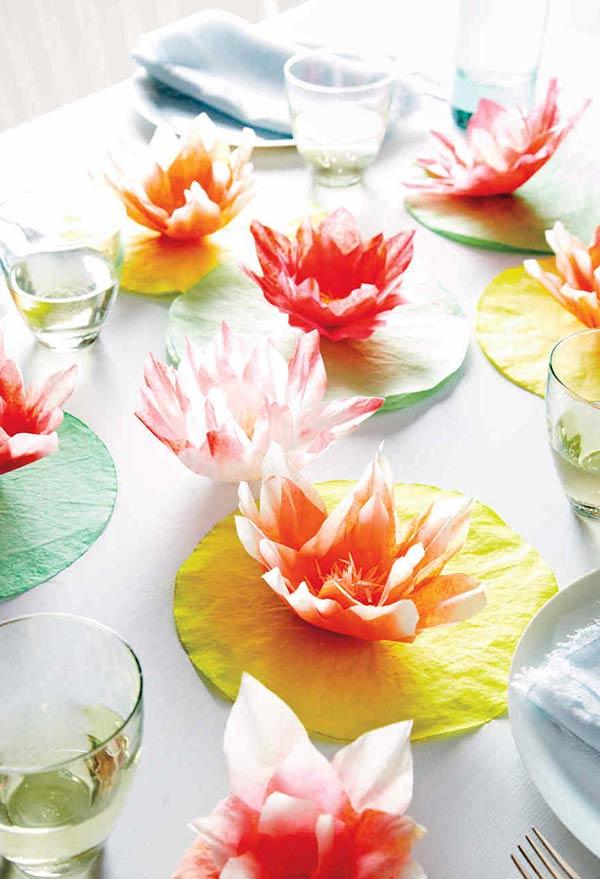 Flores e mais flores com filtro de café