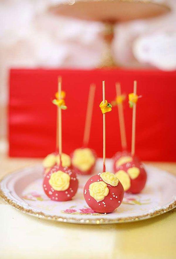 Cakepops ou docinhos no palito