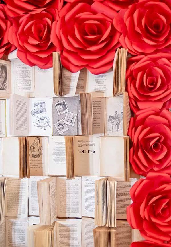 Livros para decorar o ambiente