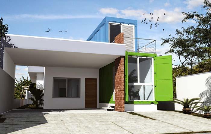 Muitas vezes Casa Container: 60 Projetos, Preços e Fotos GJ26