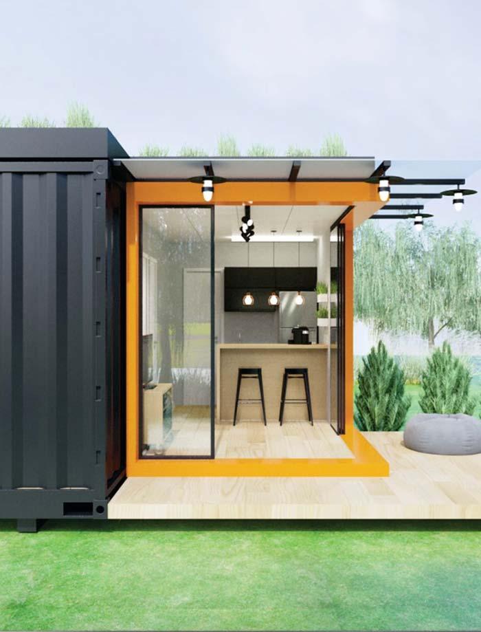 Ambientes pequenos mas muito bem planejados