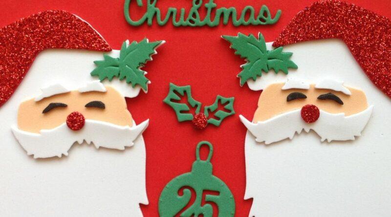Enfeites de Natal em EVA: 60 ideias e como fazer passo a passo