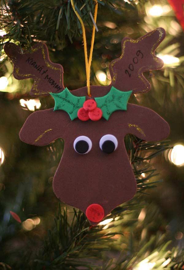 Enfeite para a árvore do Rudolf