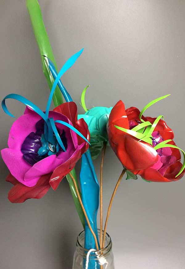 Flores super colorida para a sua casa