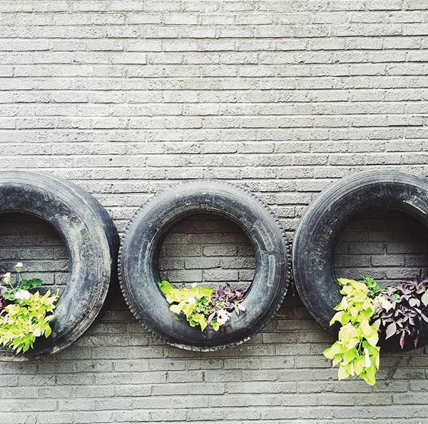 Artesanato com pneus: 65 ideias e fotos para inspirar a sua criação