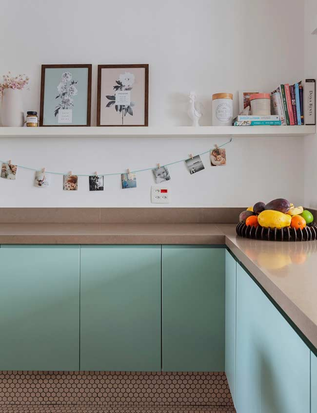 Cozinha com fotos