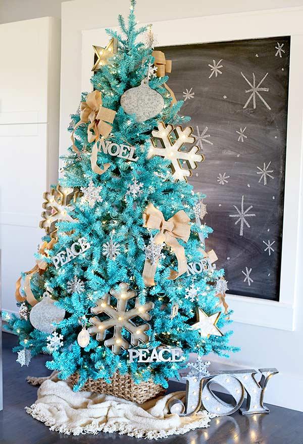 Mantenha a harmonia para decorar a sua árvore de Natal