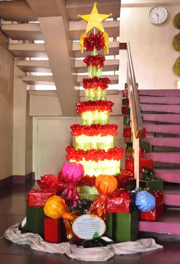 Árvore em formato de torre