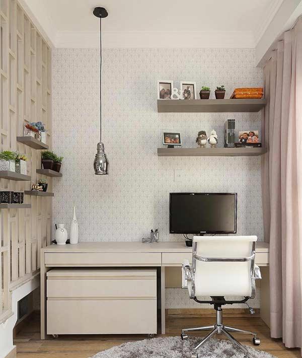 Escolha uma cor suave na decoração
