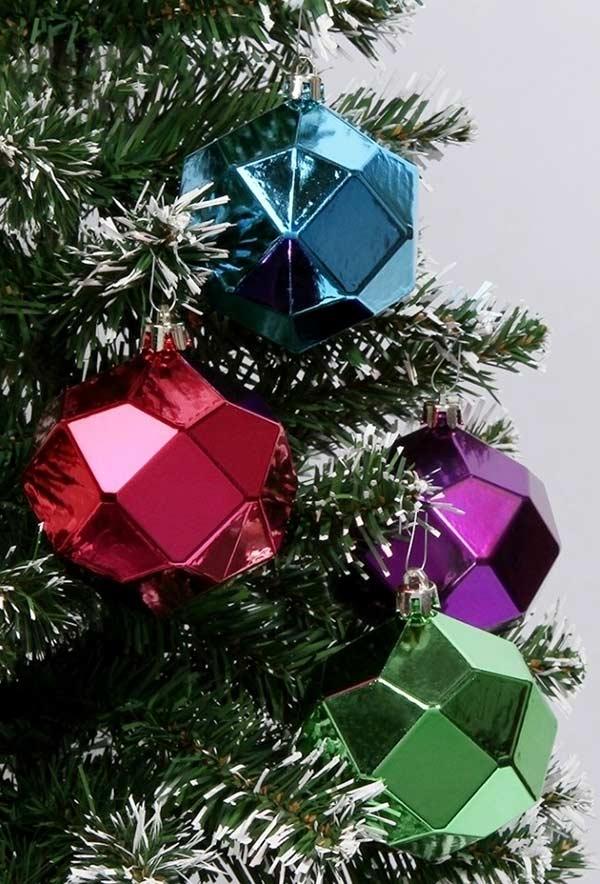 Outras formas geométricas para decorar sua árvore