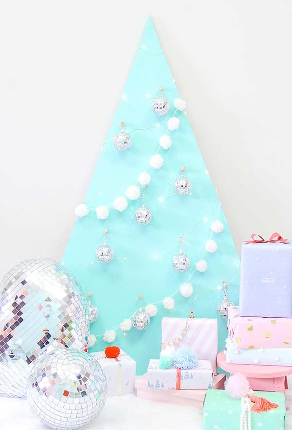 Bolinhas de Natal com pompom