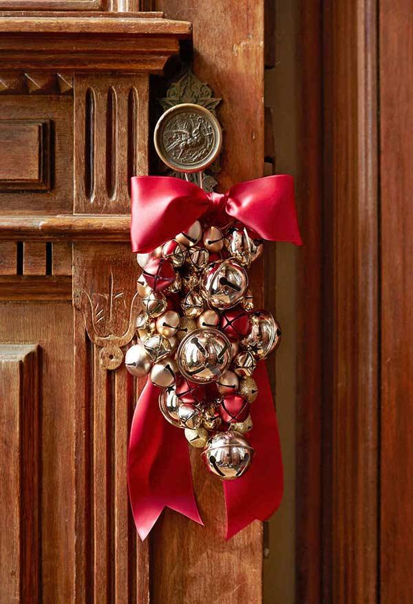 Sininhos redondos para substituir bolas de Natal