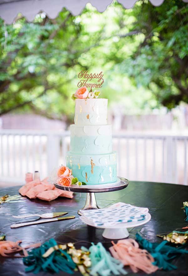 Em casamentos, o azul Tiffany se mostra como uma cor alternativa
