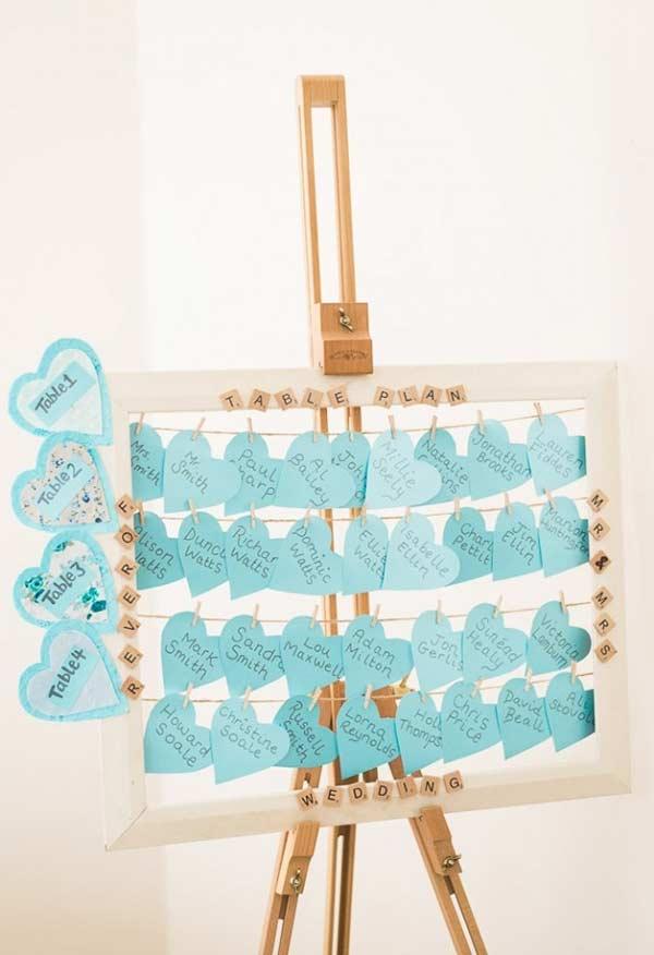 Azul Tiffany como cor de destaque