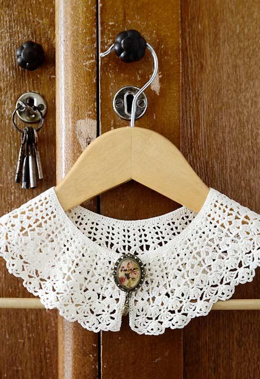 Uma gola para deixar o seu guarda-roupas e o seu quarto com cara de casarão antigo
