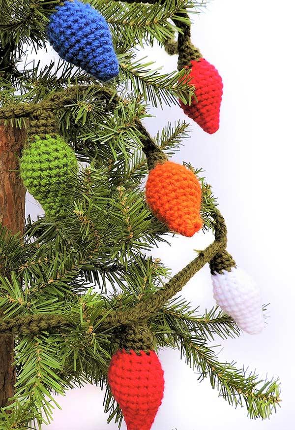 Enfeites de Natal em crochê