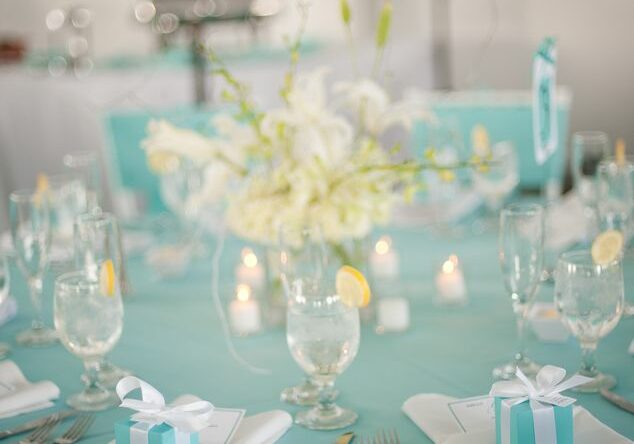 63621ff34d448 ... Casamento azul Tiffany  60 ideias de decoração com a cor