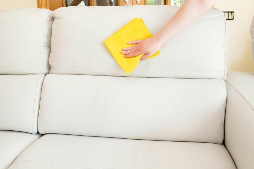 Limpeza de sofá