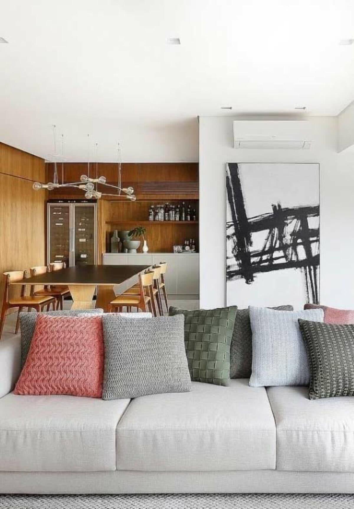 Almofadas Para Sofa Como Escolher 60 Inspiracoes Incriveis