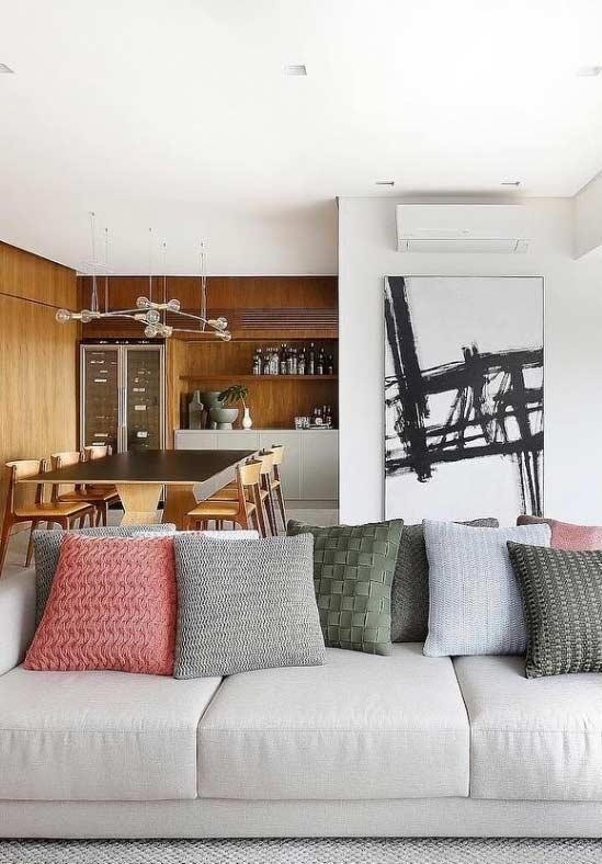 Almofadas para sofá: dicas para escolher e 60 inspirações de ambientes