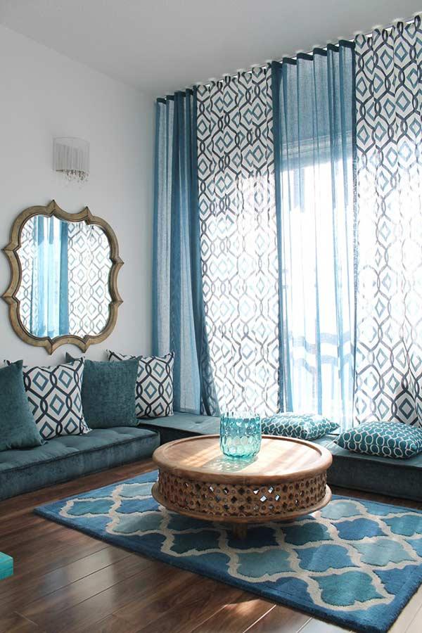 Unidade e conforto na escolha de cores e formas das almofadas