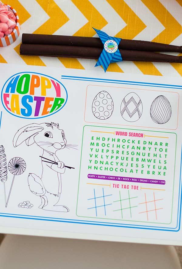 Atividade para Páscoa: pinte seus próprios ovos