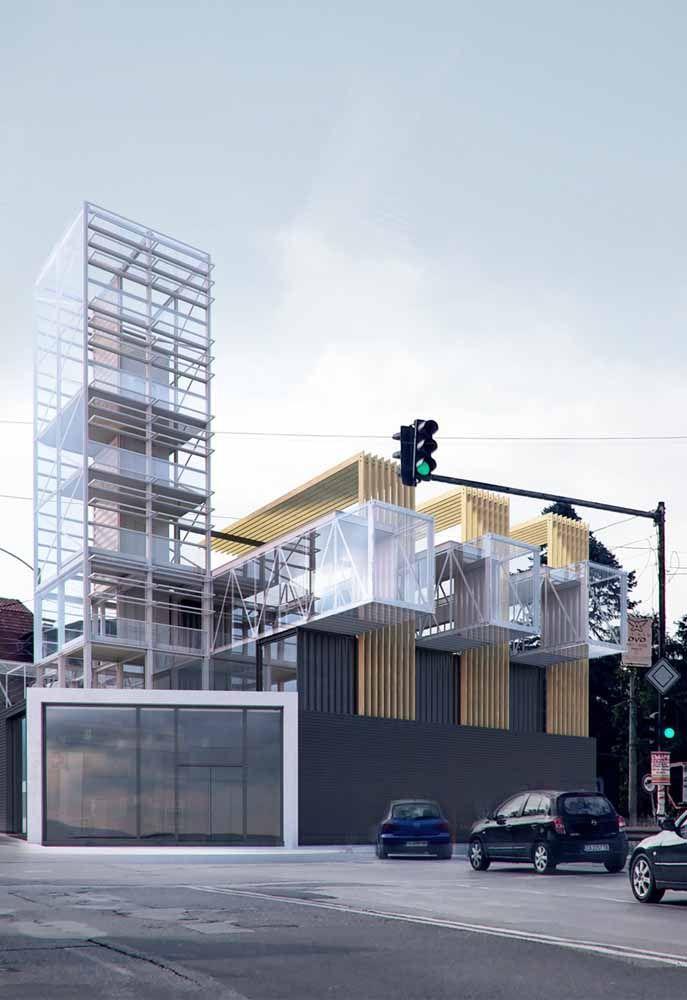 Outra opção de casa container ultramoderna