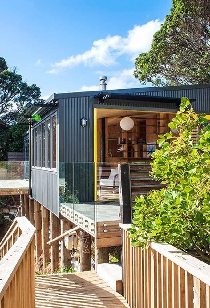 Usar container no projeto da sua casa é a oportunidade que você tem de criar um ambiente inovador e que tenha relação com a sustentabilidade