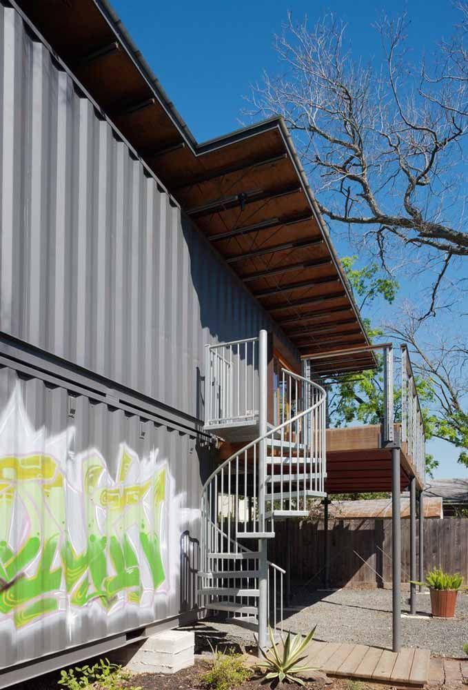 A casa container pode ser uma excelente oportunidade de criar espaços inovadores