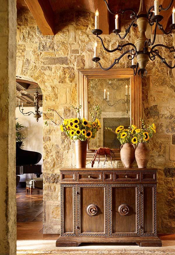 Arranjos de flores para decoração com clima mediterrâneo